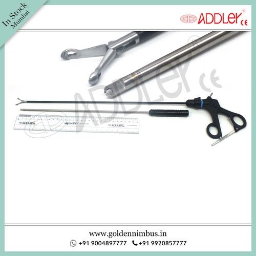 Brand New Addler Laparoscopic Babcock Grasper With Knot Pusher 5mm