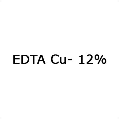 EDTA Cu- 12%