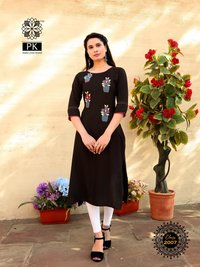 Aradhna Fashion Class Vol 2 Heavy Rayon Embroidery Work Kurti Catalog