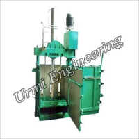 Cardboard Hydraulic Single Box Baling Press Machine