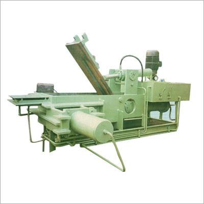 Semi Auto Scrap Baling Press