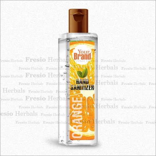 Orange Hand Sanitizer