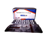 Carvedilol 3.125/6.25/12.5mg Tablets