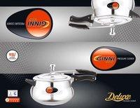 Ginni Gold Pressure Cooker Handy 3L