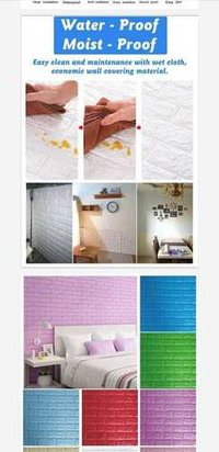 self adhesive wall panel sealan proof