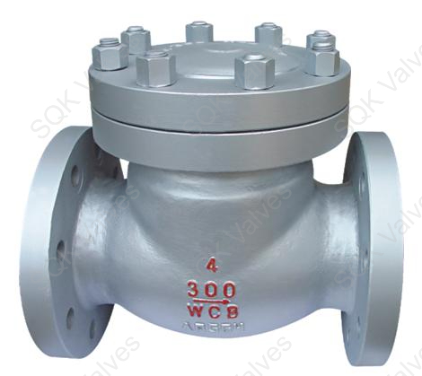 SQK A351 CF3M Cast Stainless Steel Swing Check Valve