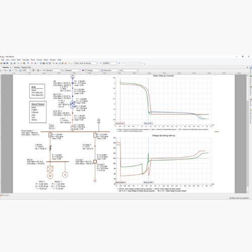 Motor Start-Up (MA) Siemens PSS SINCAL Extended Analysis Modules