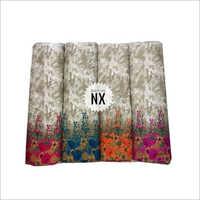 Fancy Flower Printed Rayon Fabric