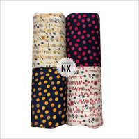 Fancy Hand Block Print Rayon Fabric
