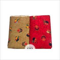 Fancy Flower Print Kurti Rayon Fabric