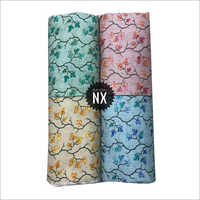 Leaves Printed Fancy Rayon Fabric