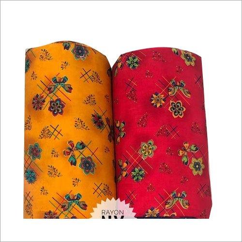 Fancy Rayon Anarkali Suit Fabric
