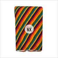 Fancy Striped Rayon Fabric