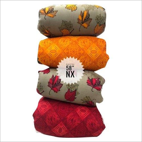 58 Inch Designer Printed Rayon Top Fabric