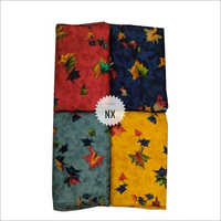 Designer Leaves Print Rayon Fabric