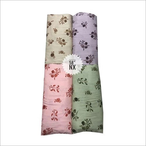 58 Inch Designer Rayon Fabric