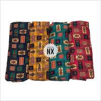 Multicolored Designer Rayon Fabric