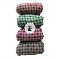 Designer Check Rayon Shirt Fabric