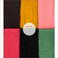 Rayon Slub Lycra Fabric
