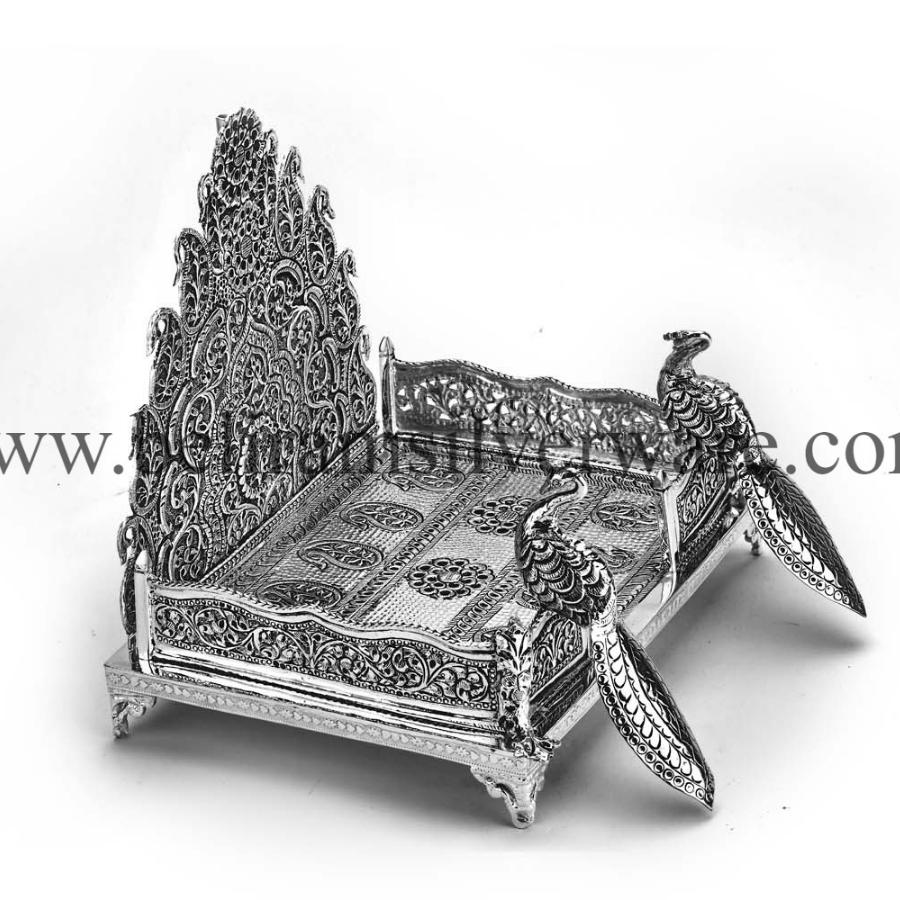 Silver Singhasan