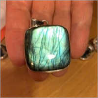 Natural Labradorite 925 Sterling Silver Pendat
