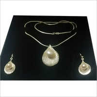 925 Sterling Silver 3 Piece Pearl Set