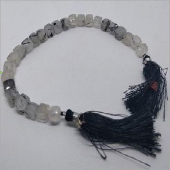 Polished Rutile Natural Gemstone Beads