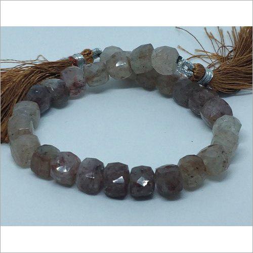 Polished Rutile Gemstone Beads