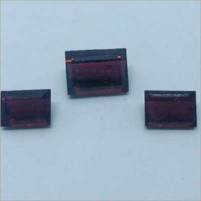 Turmaline 3 Piece Rectangles Shaped Faceted Natural Gemstone Set
