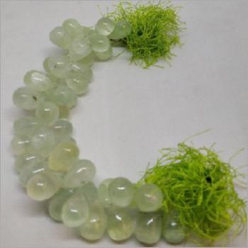 Natural Prehnite Pearl Beads