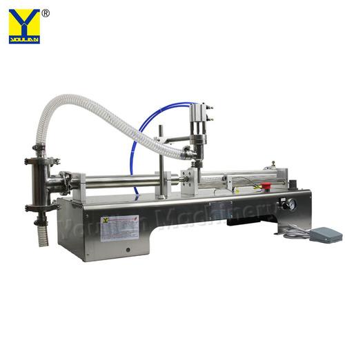 Pneumatic Bottle Filler Liquid Oil Filling Machine