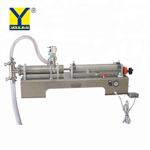 G1WYD 100-1000ml Single Head Semi Automatic Liquid Filling Machine Milk Filling Machine