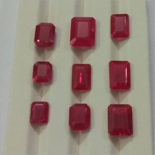 Lab Created Ruby Gemstone