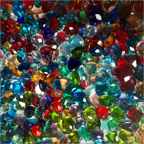 Imitation Glass Gemstone