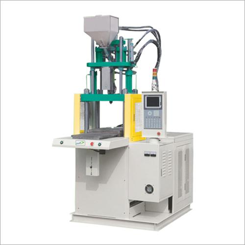 Single Sliding Vertical Injection Moulding Machine
