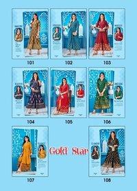 Gold Star Rayon 14 Kg Long Gown Type Kurtis