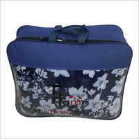 Floral Print Blanket Zipper Bag