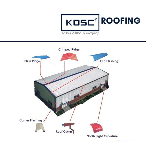 Color Coated KOSC Roofing Accessories