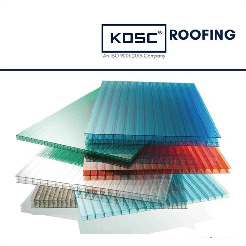 PVC Plain Multiwall Polycarbonate Sheet