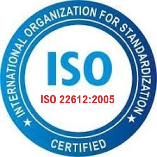 ISO 22612 2005 Certification Service