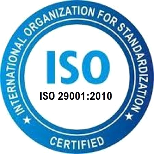 ISO 29001 2010 Certification Service
