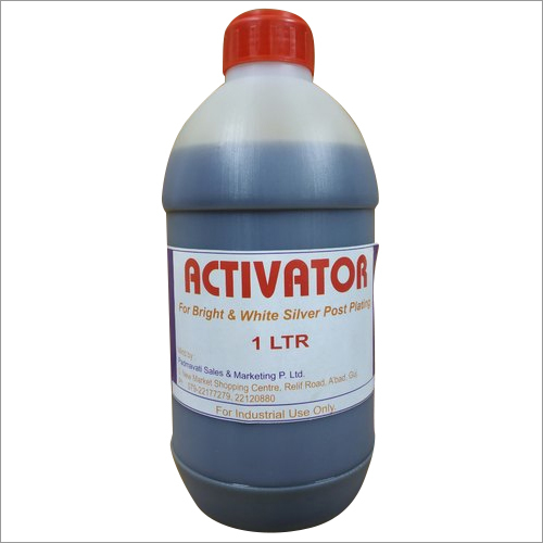 Activator For Post Silver Plating Cleaning