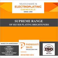 Silver Plating Brightener Supreme Range