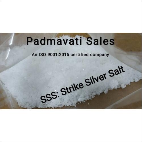 SSS - Silver Strike Salt for Bright Silver Plating