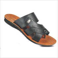 Black Gents Slippers