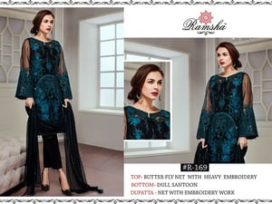 Heavy Embroidered Pakistani Wedding Suits