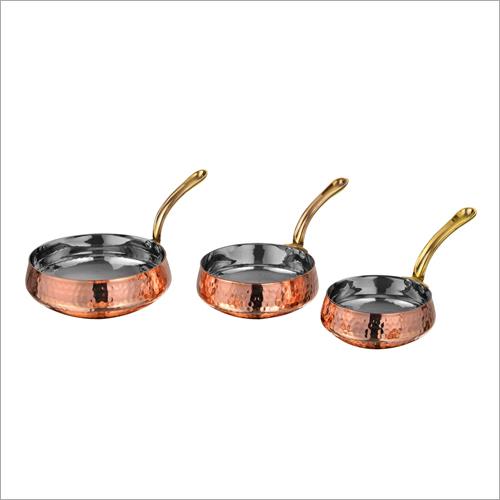 Belly Pan Brass Handle