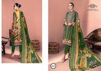 Hayat Luxury Lawn Pakistani Karachi Print Salwar Suits Catalog