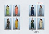 Vamika Nx Roxie Premium Rayon Slub Kurti Catalog