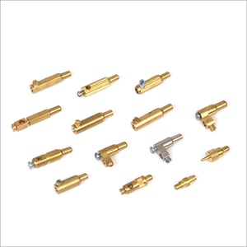 Brass Lamp Holder Plunger Parts